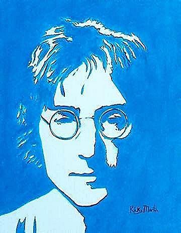 Art: John Lennon by Artist Ulrike 'Ricky' Martin