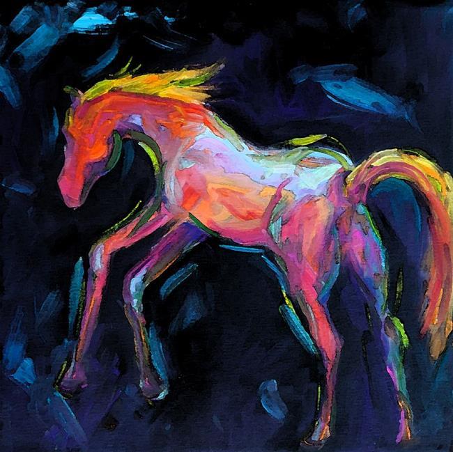 Art: Yipeee by Artist Deborah Sprague