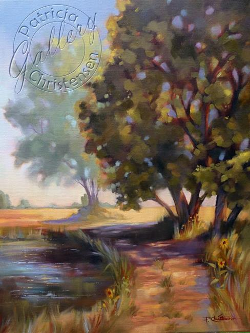 Art: Colorado Country Lane by Artist Patricia  Lee Christensen