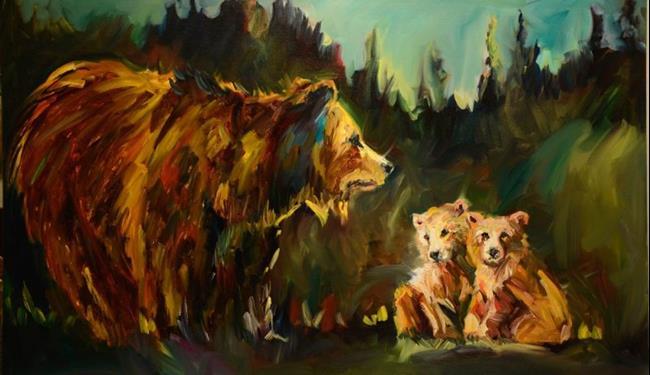Art: gallerybears1 5 by Artist Diane M Whitehead