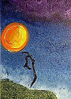 Art: Moonish by Artist Staci Rose