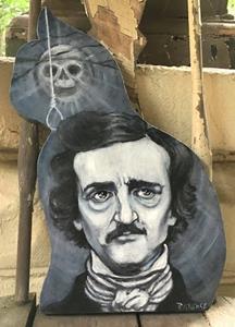 Detail Image for art Poe's Black Cat