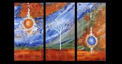 Art: A Brilliant Sky by Artist Karina Keri-Matuszak