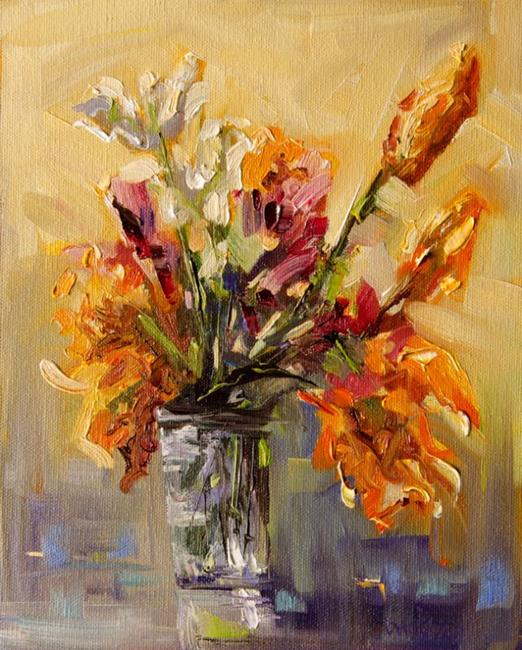 Art: Sunny Floral by Artist Diane M Whitehead
