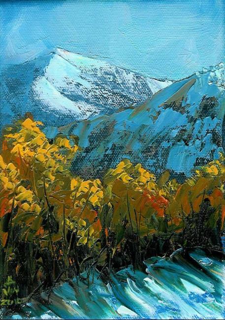 Art: Chilly Morning (Sold) by Artist Kimberly Vanlandingham