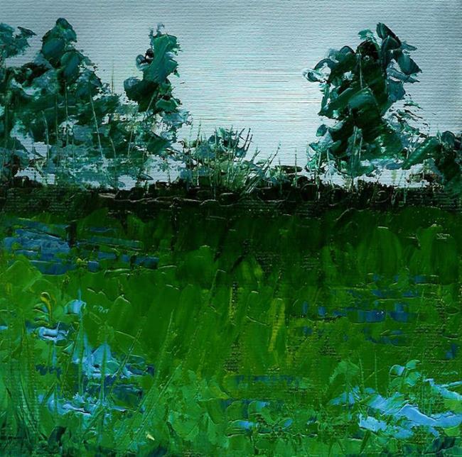 Art: Rainy Morning (Sold) by Artist Kimberly Vanlandingham