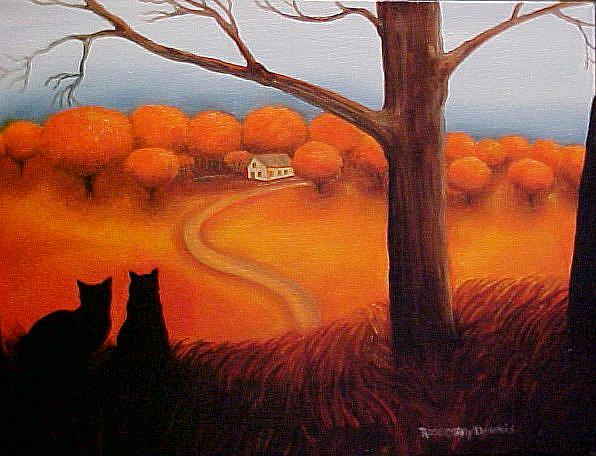 Art: ALMOST HOME ll by Artist Rosemary Margaret Daunis
