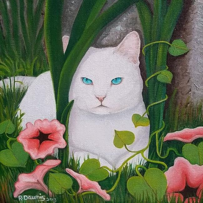 Art: ALONE TIME....Sold by Artist Rosemary Margaret Daunis