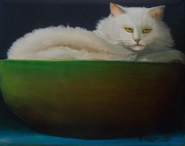 Art: RESTING...Sold by Artist Rosemary Margaret Daunis