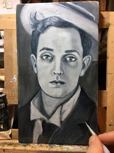 Detail Image for art Buster Keaton