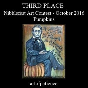 Detail Image for art Thoreau, Pumpkin Sitter