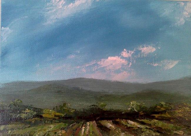 Art: Growing Fields, Kentucky by Artist Kimberly Vanlandingham