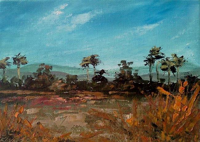 Art: Salt Marsh Everglades 2013.jpg by Artist Kimberly Vanlandingham
