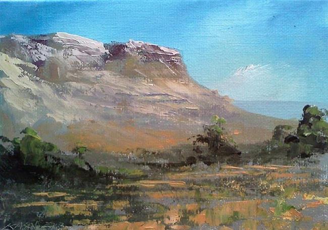 Art: Western Highland 2013 by Artist Kimberly Vanlandingham