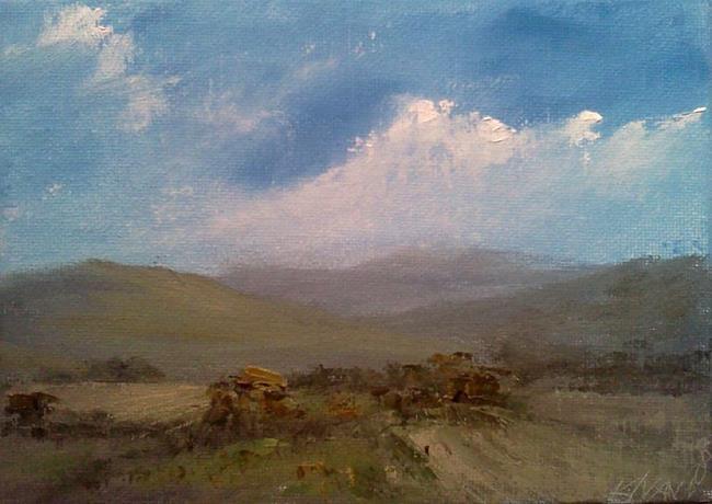 Art: Western Fields, 2013 by Artist Kimberly Vanlandingham