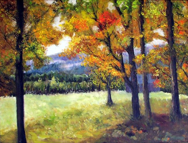 Art: Berkshire Autumn by Artist Doris H. David