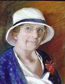 Art: Etta Arizona Bradford by Artist Debra Schott