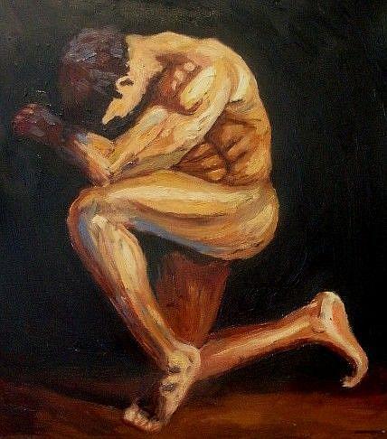 Art: Hiding by Artist Mats Eriksson