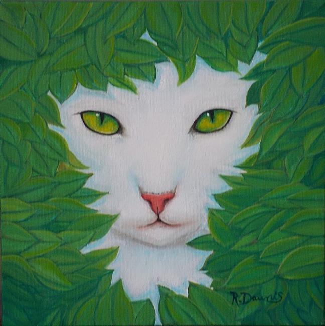 Art: GODDESS OF THE GARDEN....Sold by Artist Rosemary Margaret Daunis