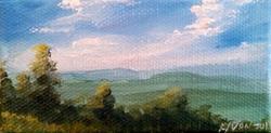 Art: Overlook, 2014 by Artist Kimberly Vanlandingham