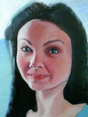 Art: My Mona Lisa by Artist Debra Schott