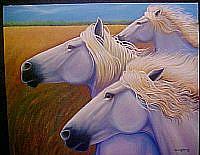 Art: Racing the Wind by Artist Rosemary Margaret Daunis