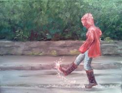 Art: Puddle by Artist Kimberly Vanlandingham