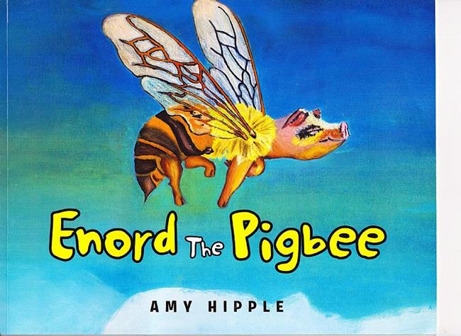 Art: Enord the Pigbee by Artist Amy J Hipple