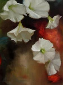 Detail Image for art White Petunias