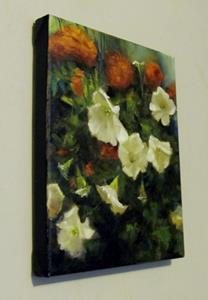 Detail Image for art Petunias and Marigolds