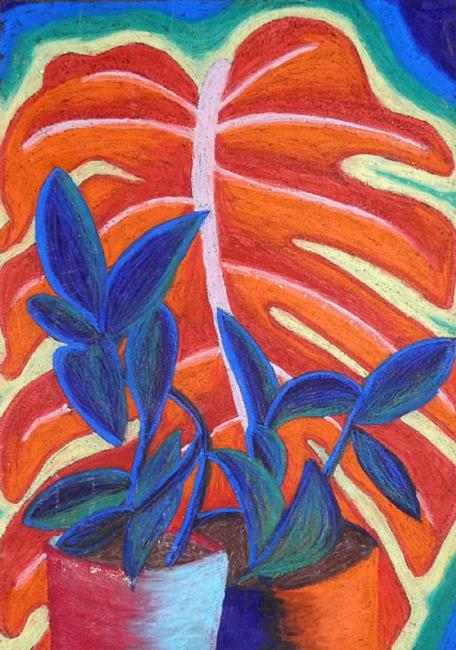 Art: plants by Artist Jane Gould