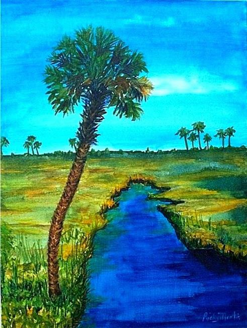 Art: Florida Wetlands (sold ) by Artist Ulrike 'Ricky' Martin