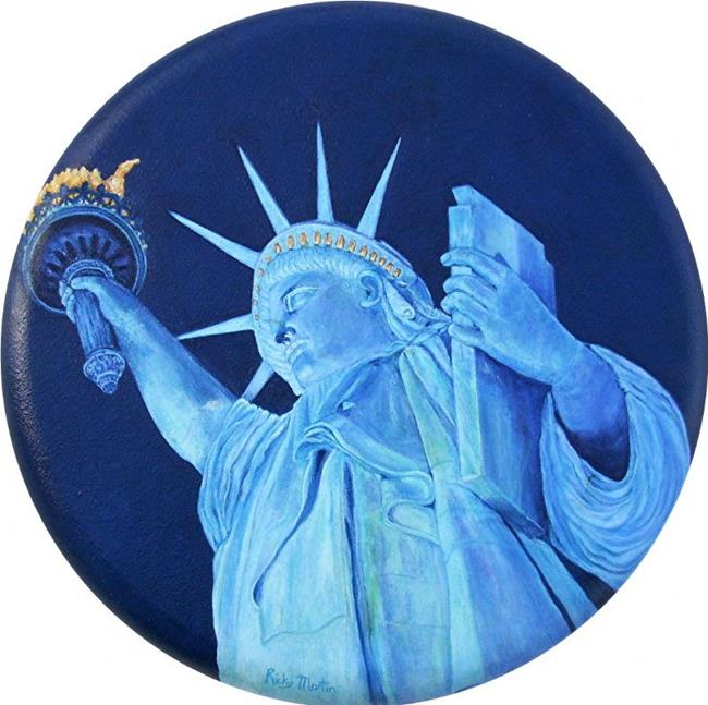 Art: Lady Liberty by Artist Ulrike 'Ricky' Martin