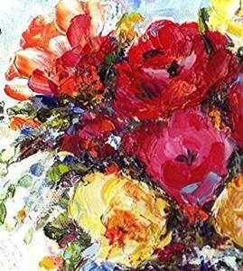 Detail Image for art Cabbage Roses