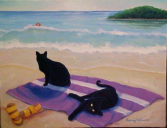 Art: WAITING by Artist Rosemary Margaret Daunis