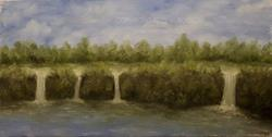 Art: Four Falls by Artist Windi Rosson