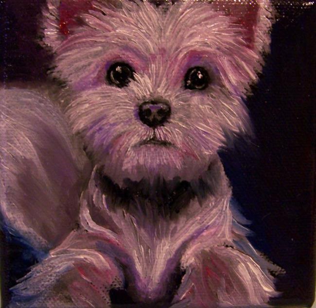Art: Westie by Artist Camille Meeker Turner