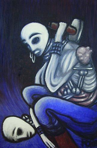 Art: Internal Peacekeeper by Artist Robert Thomas Robie