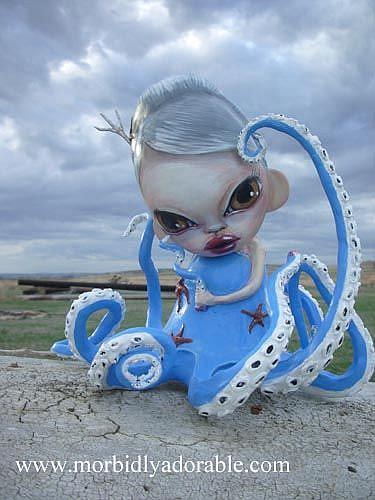 Art: Breaking Away Munny by Artist Misty Monster (Benson)