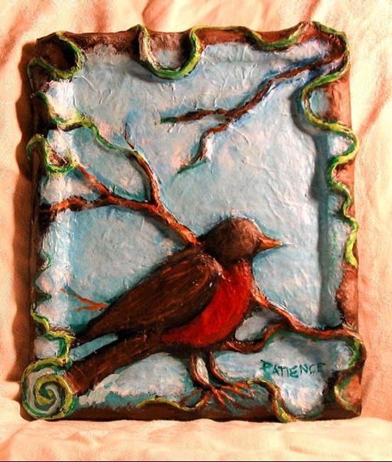 Art: Robin Bird (As RIPPED from Loredana Mariotto) by Artist Patience