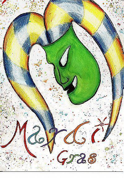 Art: Mardi Gras!!! by Artist Victor McGhee