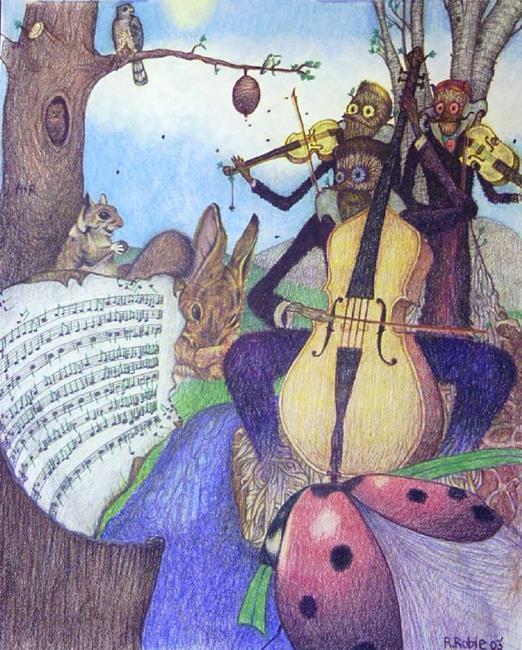 Art: The Bluegrass Spring by Artist Rob Robie
