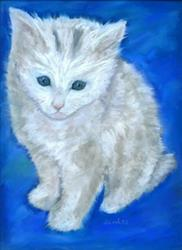Art: Kitty by Artist Shoshana Avramovitz