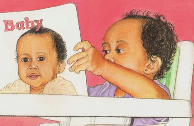 Art: Baby Book by Artist Paula M Parker