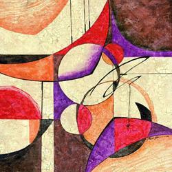 Art: The Cracked Veneer of Modern Antiquity  by Artist Alma Lee