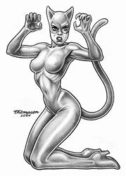 Art: Catwoman by Artist John Thompson