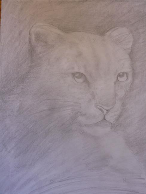 Art: Jaguar by Artist Nata Romeo ArtistaDonna