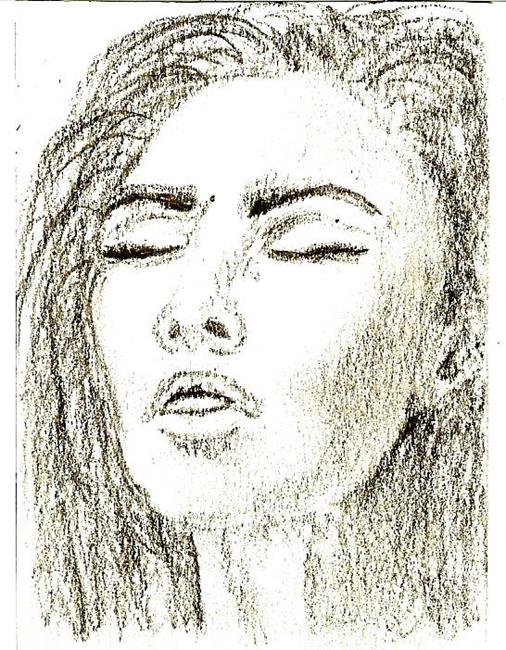 Art: Woman Sketch by Artist Nata Romeo ArtistaDonna