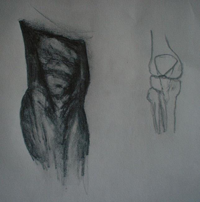 Art: Knees by Artist Martin Devine
