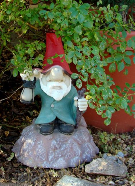 Art: Garden Gnome by Artist Leea Baltes